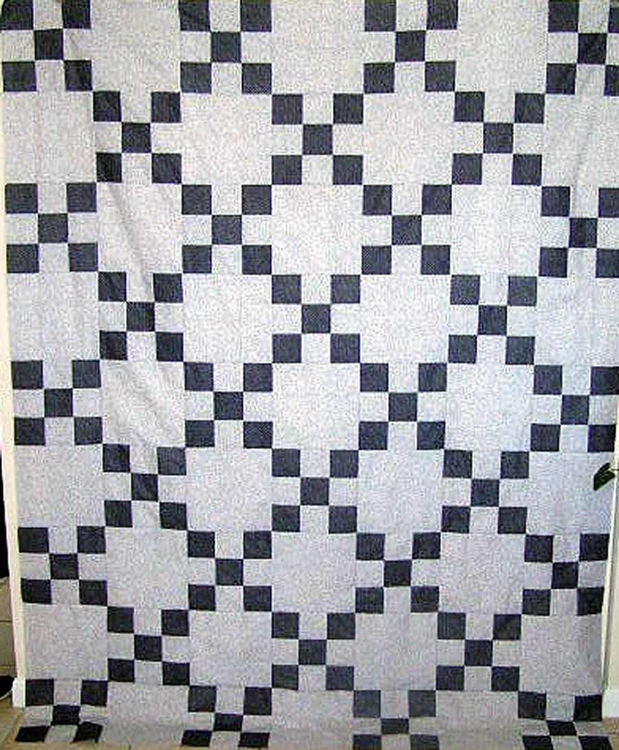 Irish Chain Quilt Pattern History : Quilting